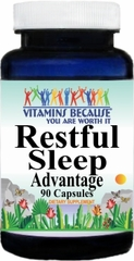 9548 Restful Sleep 90caps Buy 1 Get 2 Free