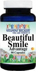9647 Beautiful Smile Advantage 90caps Buy 1 Get 2 Free