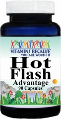 9753 Hot Flash Advantage 90caps Buy 1 Get 2 Free