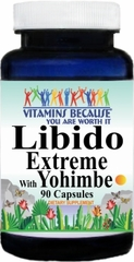 9845 Libido Extreme with Yohimbe 90caps Buy 1 Get 2 Free