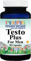 9852 Testo Plus For Men 90caps Buy 1 Get 2 Free