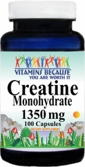 9869 Creatine Monohydrate 1350mg 100caps Buy 1 Get 2 Free