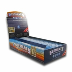 Elements Rice Rolling Papers 1 1/4 Box of 24