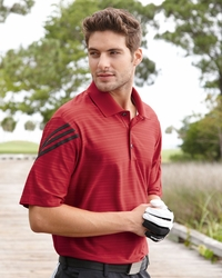 Adidas Golf Men's 3-Stripes ClimaCool Mesh Polo  (Item A133-S)