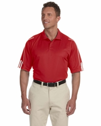 Adidas Golf Men's Climalite 3-Stripes Cuff Polo  (Item A76-PL)