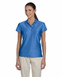 Adidas Golf Women's ClimaCool 3-Stripes Mesh Polo