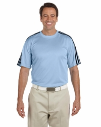 Adidas Golf Men's 3-Stripes Moisture-Wicking T-Shirt
