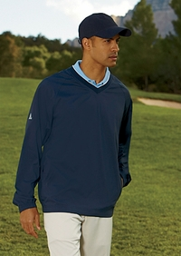 Adidas Men's Golf  V Neck Windshirt  (Item A47-PL)