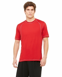 Alo Men's 100% Polyester Interlock Sport T-Shirt