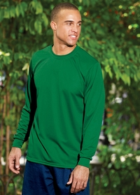 Augusta Men's Long Sleeve 100% Polyester Wicking Sport T-Shirt