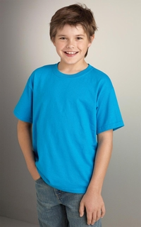 Boys - Girls 50/50 Cotton-Poly DryBlend T-Shirt