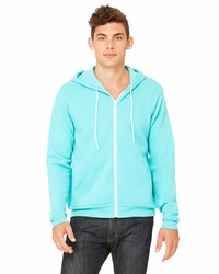 Canvas Unisex Poly-Cotton Fleece Full-Zip Hoodie