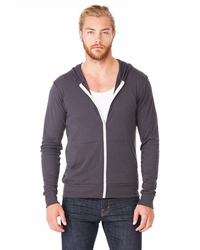 Canvas Unisex Triblend Full-Zip Lightweight Hoodie - Best Seller