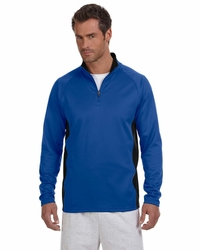 Champion Lightweight Quarter-Zip Fleece Jacket with Side Panel