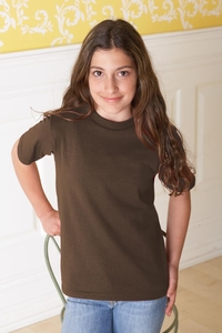 Girls - Boys 50/50 Cotton Poly Preshrunk Jersey T-Shirt