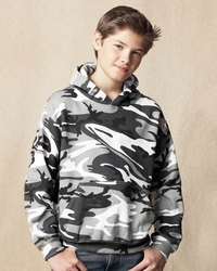 Girls- Boys Camouflage Hooded Sweatshirt with Pocket