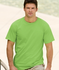 Hanes Men's 100% Preshrunk Cotton Jersey Tee