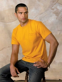 Hanes Men's Beefy-T�with Pocket