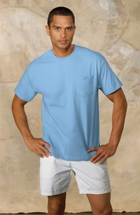 Hanes Men's Tagless� T-Shirt with Pocket