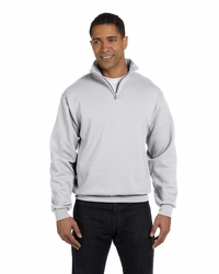 Jerzees NuBlend Quarter-Zip Cadet Collar Sweatshirt