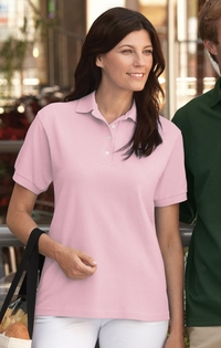 Jerzees Women's 100% Ringspun Cotton Pique Polo