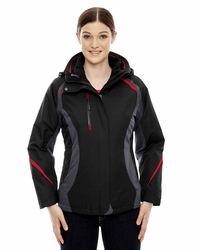 Ladies Ski Jacket with Insulated Liner & Storm Flap