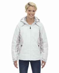 Ladies Linear Insulated Ski Jacket with Print
