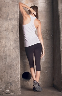 Ladies' Mesh Back V-NeckTank