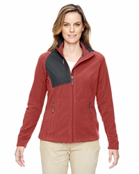 Ladies Trail Fabric-Block Fleece Jacket