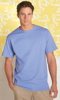 Men's 100% Heavy Cotton Preshrunk Jersey T-Shirt