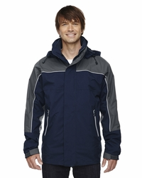 Men's 3-in-1 Seam-Sealed Waterproof Shell Jacket