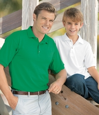 Men's Cotton/Poly Jersey Polo Shirt