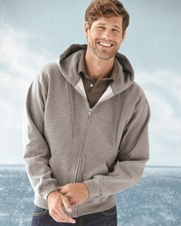 Jerzees Men's 9.5 oz. 50/50 Hooded Zip Up Fleece Jacket