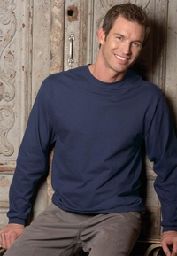 Men's Heavyweight Cotton Long-Sleeve