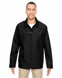 Men's Lightweight Jacket with Fold Down Collar