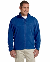 Men's Microfleece Full Zip Jacket with Zip Pockets