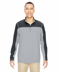 Men's Moisture-Wicking Performance Half-Zip Pullover