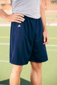 Men's Nylon Tricot Mesh Sport Shorts