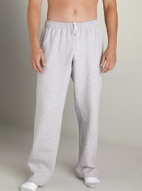 Men's Open-Bottom Sweatpants with Pockets