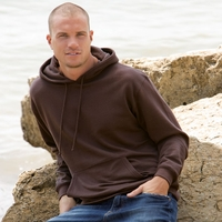 Men's Organic Pullover Hoodie with Pocket