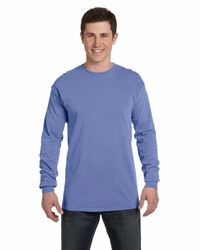 Men's / Women's Long Sleeve Ringspun Garment-Dyed T-Shirt
