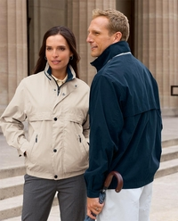 Men's - Women's Wind & Water Resistant Microfiber Jacket
