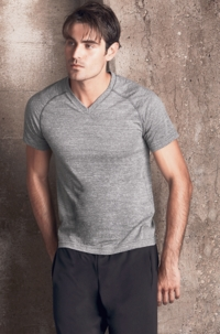 Mens Triblend V-Neck Tee (M1105-A)