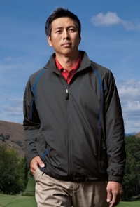 Nike Golf Lightweight Full-Zip Wind Jacket with Mesh Lining