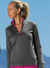 Nike Golf Ladies Dri-FIT 1/2 Zip Pullover Cover Up