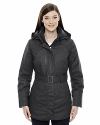 Women's Textured Insulated Ski Jacket with Heat Reflect Technology