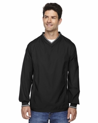 North End Men's Golf V-Neck Unlined Windbreaker Jacket