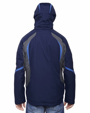 Men's 3-in-1 Water Resistant Finish Ski Jacket with Insulated Liner