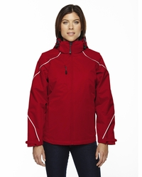 Ladies Bonded Fleece Liner Ski Jacket with Inside Storm Placket