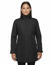 Ladies Insulated Jacket with Roll-Away Hood & Storm Flap